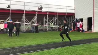 Collab copyright protection - all black pole vault neck slam - Video