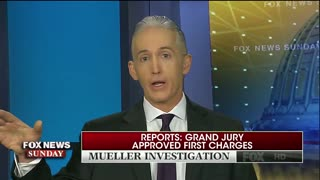 Gowdy Calls Out Mueller's Team Over Indictment Leak! - Video