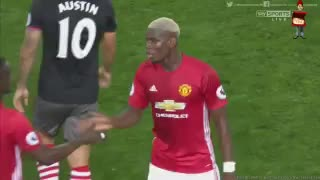 VIDEO: The secret greeting between Pogba and Bailly after the victory of Manchester United - Video