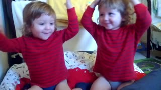 Twins Copying Each Other - Video