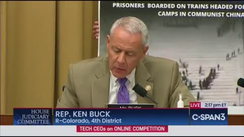 Rep. Buck To Google CEO: What Values Do Google And Communist Red China Have In Common?