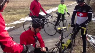 Team SociALE Patch it up for pie ride