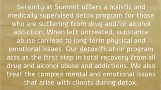 Summit Detox Treatment and Addiction Recovery - Video