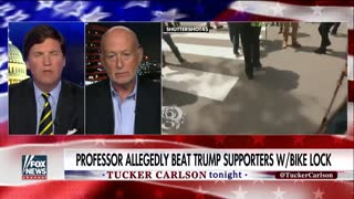Tucker Destroys The Lawyer For AntiFa Professor Accused Of Attacking Trump Supporter With Bike Lock