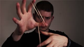 Rubber band disappears in the blink of an eye! - Video