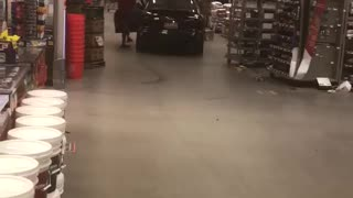 Curbside Pickup Just Isn't Close Enough For Customer
