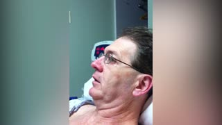 Disoriented Man Wants A Pet Monkey After Coming Out Of Surgery - Video