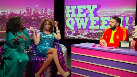 Hey Qween! HIGHLIGHT: Morgan McMichaels Tells The Dirtiest Story Ever!