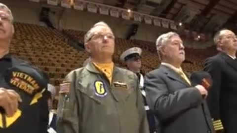Coach Removes Chairs From Team Who Kneeled During Anthem And Gives To Veterans — EPIC!
