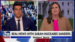 Sarah Sanders Calls Obama Taking Credit for the Economy 'Laughable' - Video
