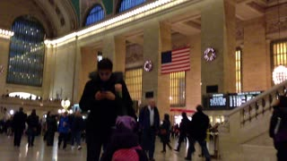Grand Central Station New York City - Video