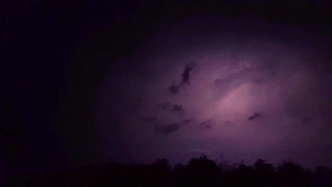 Amazing Lightening Show!!