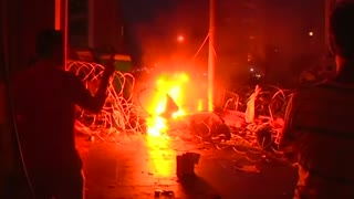 Protests flare as Lebanon crisis grows - Video