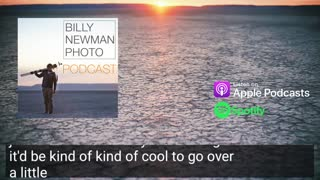 Learning audio production with Sonar - 02 | Billy Newman Photo Podcast Clip 147