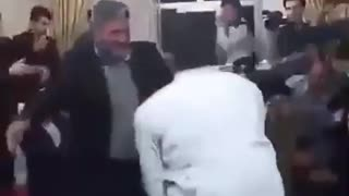 Man Dances in Wedding Ceremony - Video