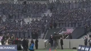 President Trump Introduced at Army Navy Football Game at West Point USMA