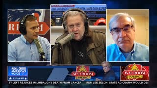 Steve Bannon on Party of Davos flooding the zone with cheap labor