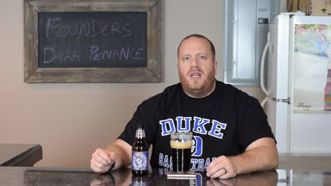 Dark Penance beer review from Founders Brewery