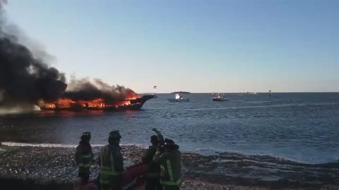 50 Rescued From Casino Boat Fire in Florida