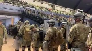 National Guard troops in DC ahead of inauguration