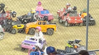 Power Wheels Demolition Derby