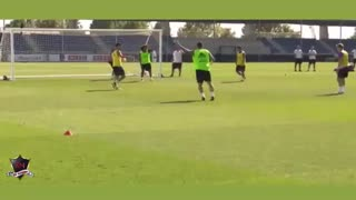 VIDEO: Isco scores an insane backheel goal in Real Madrid training