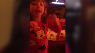 Little Girl Freaks Out About New Baby - Video