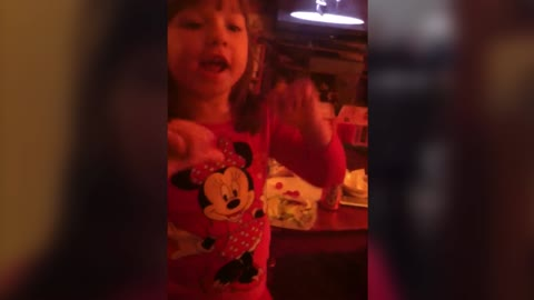 Little Girl Freaks Out About New Baby