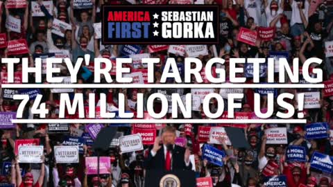 They're targeting 74 million of us! Katrina Pierson on AMERICA First with Sebastian Gorka