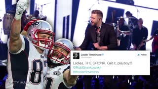 Rob Gronkowski & Julian Edelman Have Crazy Rager, Justin Timberlake Approves - Video