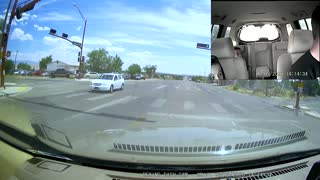 Brand New Tire Flies Off and Crashes Into Car