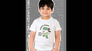 Kids Black Colour Tee Shirts - Video