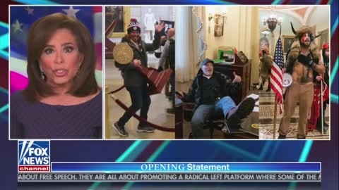 Judge Jeanine Is Angry: Stop Blaming Dirt Bag Terrorists ANTIFA For The Capital Breach!