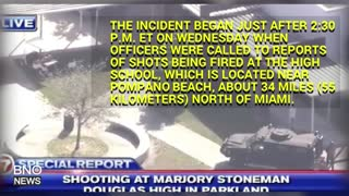 Active Shooter at Stoneman Douglas High School in Parkland, Florida - Video