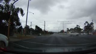 Insane Lightning Strike Hits Car In Australia - Caught On HD Dash Cam