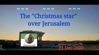 The Christmas Star over Jerusalem and SC