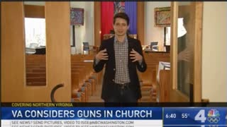Virginia Moves to Change Law Allowing People Take Gun to Church - Video