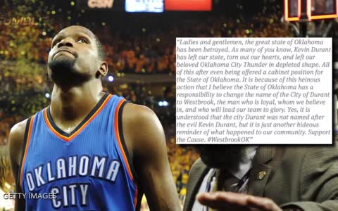 OKC Thunder Fans Want To Change Name of City