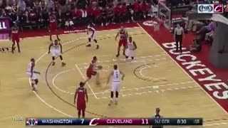 LeBron James Gets Punked By Rookie