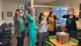 "Nurses dance to ""Frozen 2"" during Covid19 outbreak"