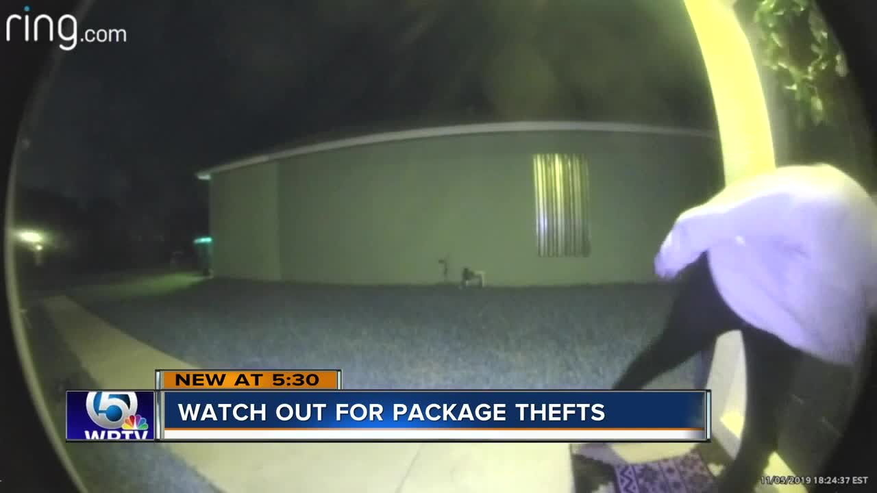 Porch pirates target homes in Palm Beach County ahead of holiday season