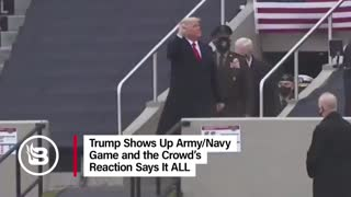 Trump attends Army Navy game