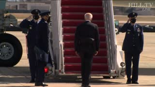 God In Heaven! Biden Falls Up The Steps On Air Force One!