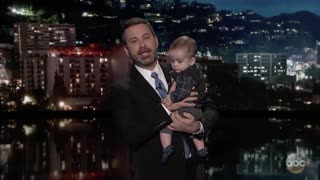 Jimmy Kimmel Brought His Baby onto Set After Heart Surgery. He's Being Slammed For Using Son - Video
