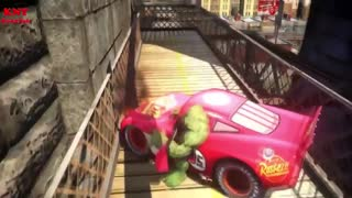 Lightning McQueen Cars HULK - Video