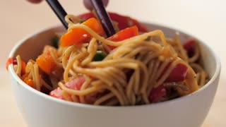 Asian Noodle Stir Fry Recipe - Video