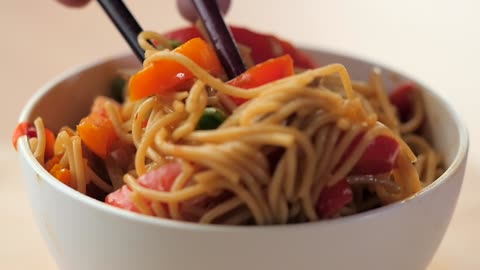 Asian Noodle Stir Fry Recipe
