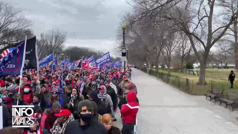 RAW FOOTAGE - Wild Protest in Washington D.C. on January 6th, 2021