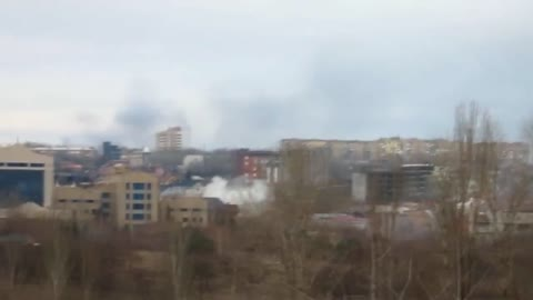 Donetsk Residential Districts Shelled By Russian Artillery