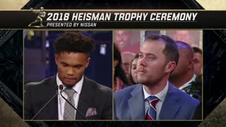 Kyler Murray wins the 2018 Heisman Trophy